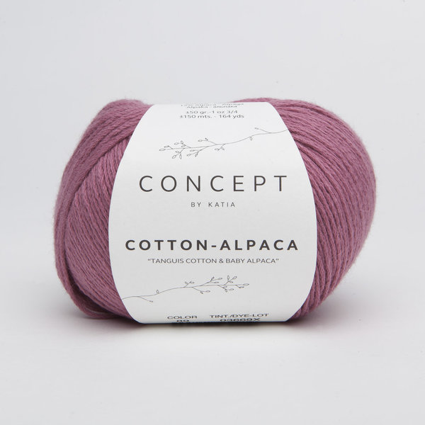 Katia Cotton Alpaca Nr. 89