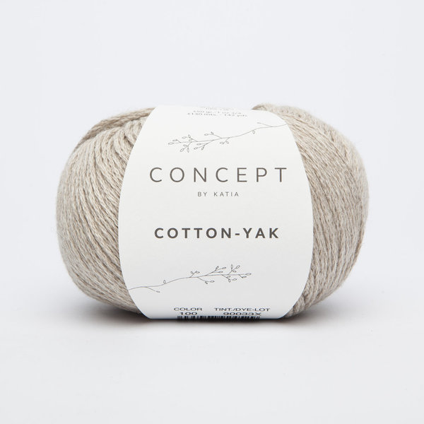 Katia Cotton-Yak Nr. 100